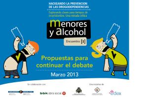 imagen menores y alcohol propuestas para continuar debate